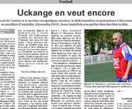 <b>VOSGES MATIN - CDF: GIRANCOURT-UCKANGE</B>